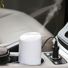 Promotional gift car electric ultrasonic mist spray fragrance humidifier air freshener
