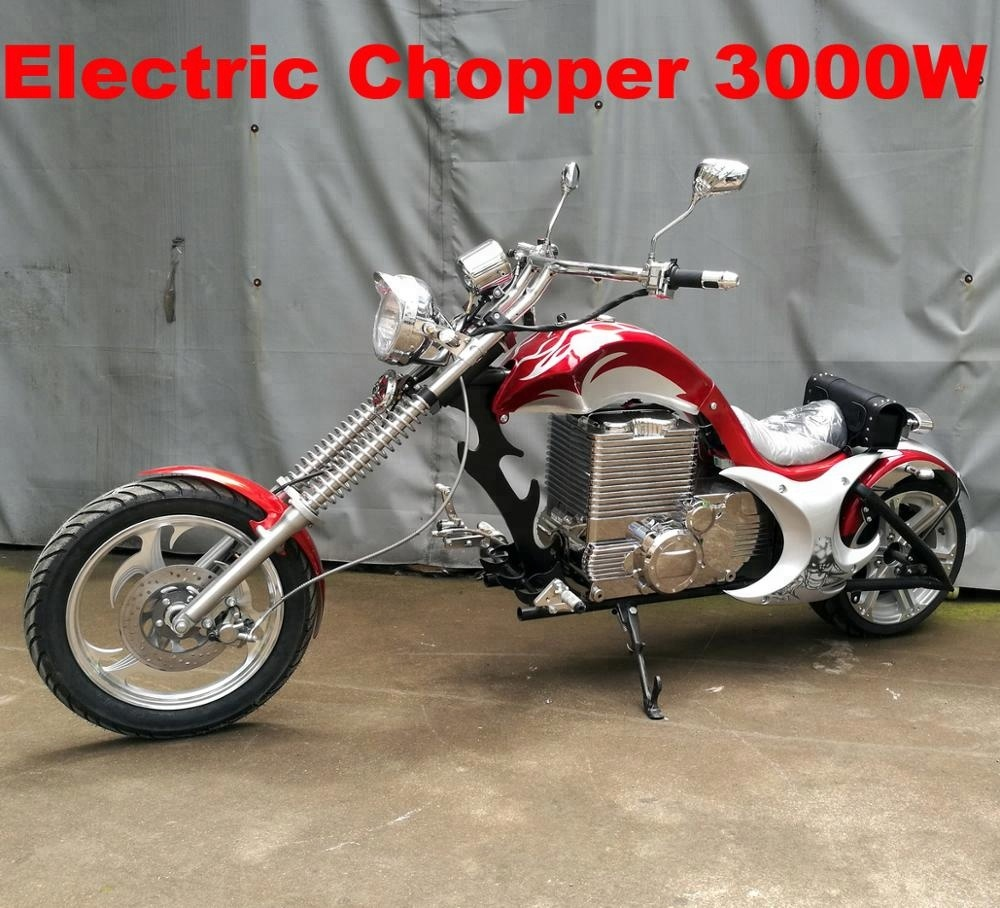 3000W 72V Powerful electric chopper <strong>motorcycle</strong> for adult