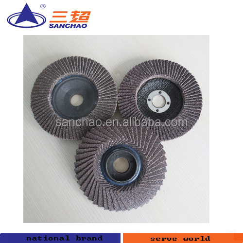 4-7'' Different Material Lowcost Flap Disc For Wood,Steel,Metal Polishing