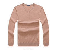 2016 Raidy boer men new fashion design solid color 100% wool knit sweater