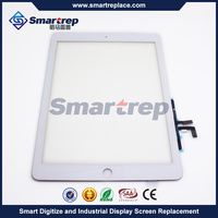 Wholesale White Touch Screen Digitizer Glass LCD For Apple Ipad Air Models A1475 A1474