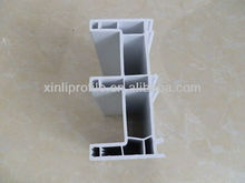 80 Transom Frame A(co-extruded strip) pvc profile/window frame