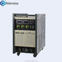 Alibaba recommend supplier IGBT 380v mig500 welding machine 600 amp welding