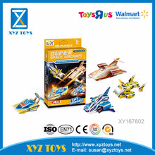 New Educational toys for kids DIY 3D Puzzle - Space aircraft solid model(4 Styles assorted)
