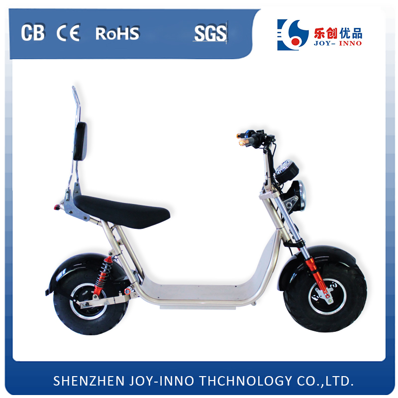 lithium battery motorcycle 60V 12Ah green power ebike all terrian fat tire two big wheel off road electric scooter harley