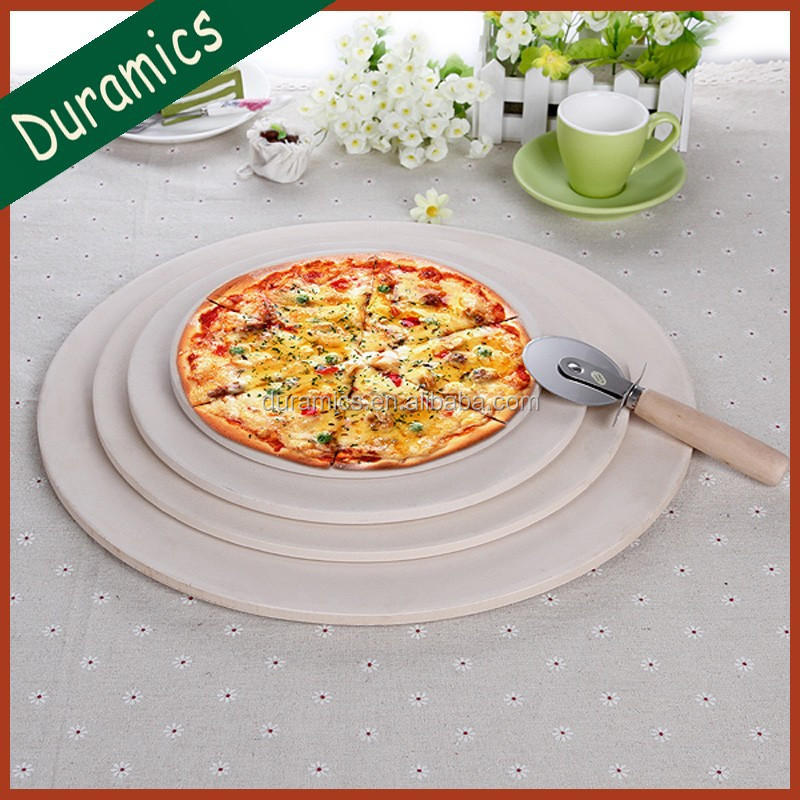 Many sizes chaozhou ceramic round shape pizza tray