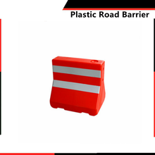 water filled traffic plastic pliable barrier plastic road safety barrier