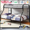 Home furniture 2 layer metal bunk bed adult cot bed on sale