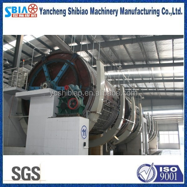 D4.5m by L5.0m leather tanning tannery equipment