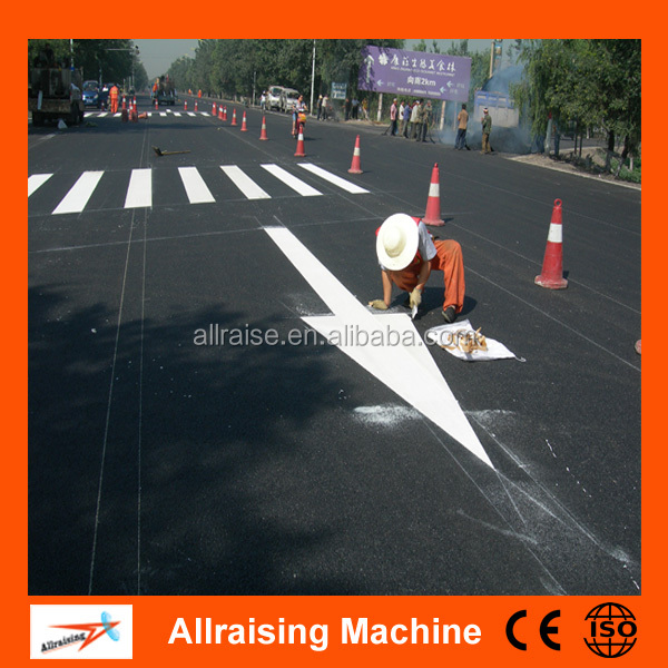 Reflective Thermoplastic Road Marking Paint Material Yellow White or OEM color