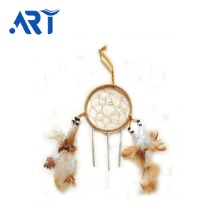 JINYU Different kinds of diy dream catcher with feathers