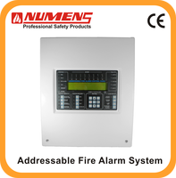 2016 Newest Touch Screen LCD display GSM Wireless Alarm Control Panel fire fighting panels