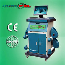 2013 best selling high accuracy APL-8100 Bluetooth four wheel aligner