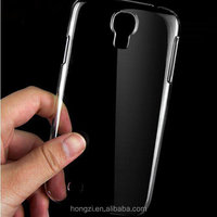 0.3mm Slim Ultra Thin Colorful Transparent phone Case For samsung Galaxy S4 Case i9500 TPU Clear Phone Back Cover