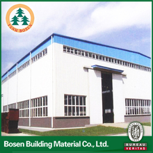 prefabricated steel warehouse/warehouse store cheap
