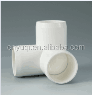 PVC sch40 Furniture grade 3 way elbow pvc fittings elbow