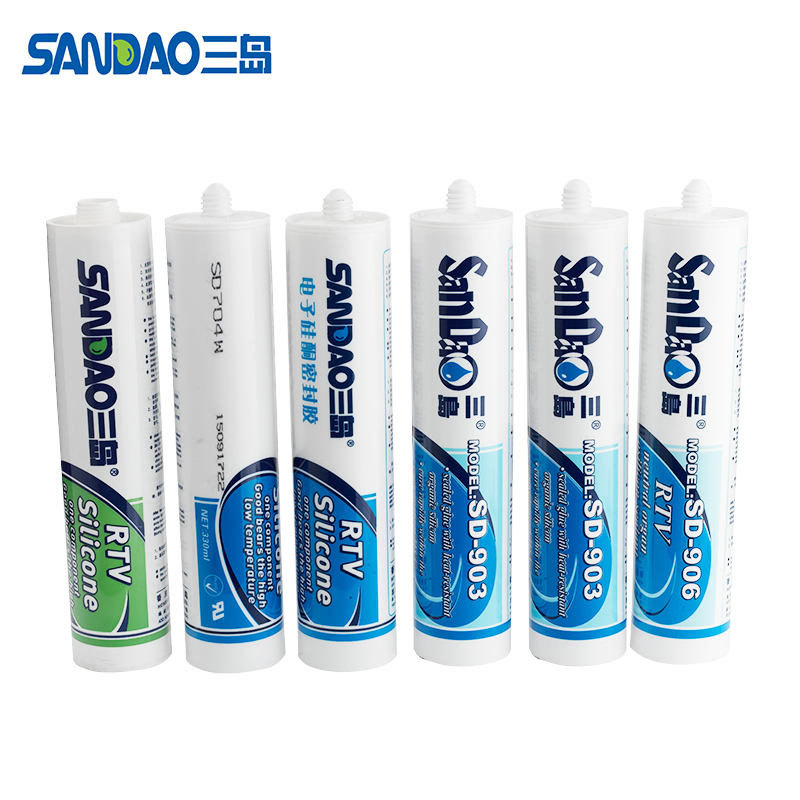 SD9091 single component cure electronic adhesive RTV silicone rubber