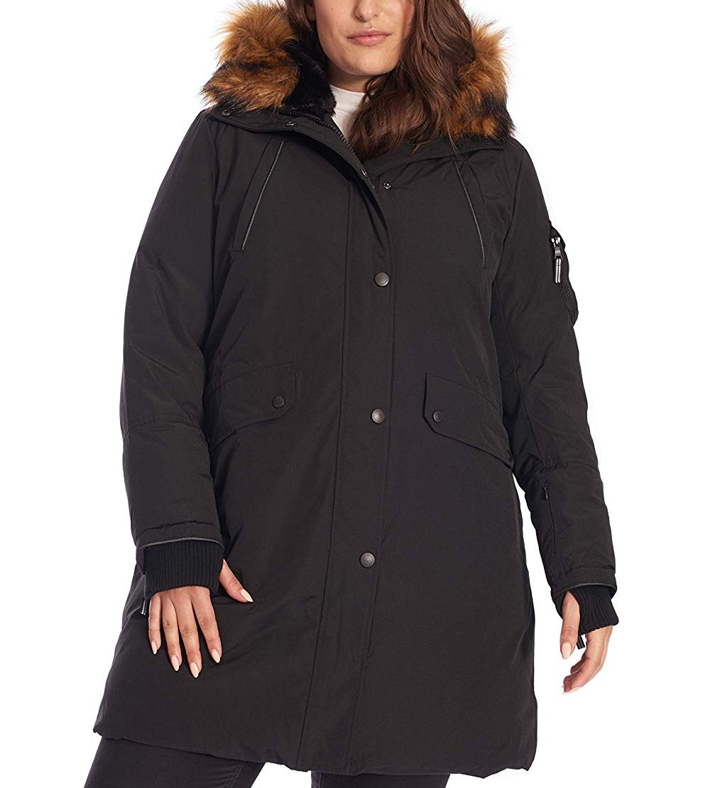 Women's Switchback Lined Long Jacket <strong>w</strong>/ Waterproof Shell