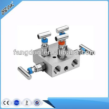 Newest Design Way Manifold 5 Valve