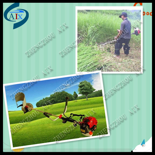 gasoline backpack light weight bush cutting machine