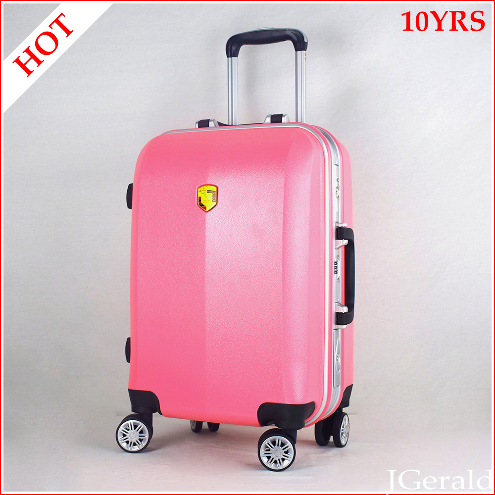Girl travel trolley luggage abs polycarbonate luggage