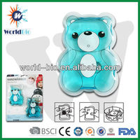 Blister packing heating pack in bear shape
