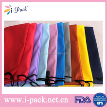 Fast delivery and factory price custom mircofiber pouch for eyeglasses/sunglasses