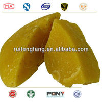 100% pure yellow beeswax / yellow beeswax refined for cosmetics