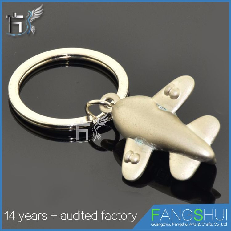 Custom model die struct metal 3d key ring plane