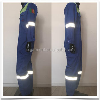 ODM Order Entertainment Industry Technician Plus size Reflective Stripe Coverall