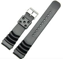 sport diver silicone watch strap