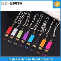 2016 High Quality Waterproof USB Flash Drive Rotating Pen Drive Lovely Gifts Usb 2.0 Memory Stick MINI Flash Drive 8G 16G 32G 64