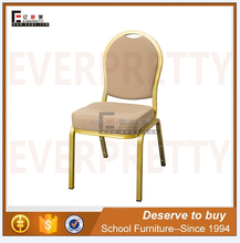 Modern Hotel Furniture High Density Hotel Hall Cushion Stacking Chairs