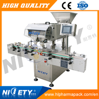 Seasoning cubes counting and jars packaging machine