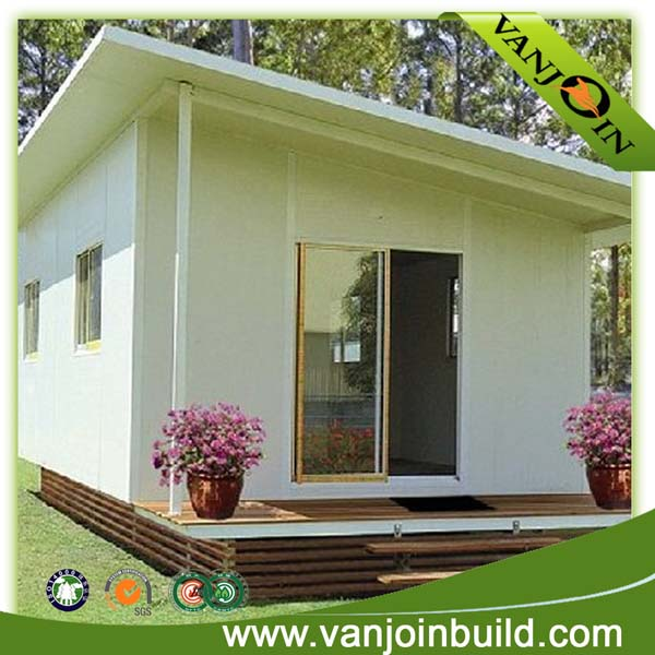 Luxury small eps sandwich panel cheap prefab steel structure house