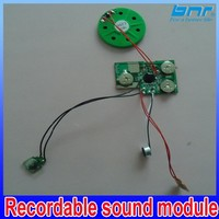 music chips with light sensor ,sound module for toys sales mini voice recorder chips for music box doll and promotional gifts