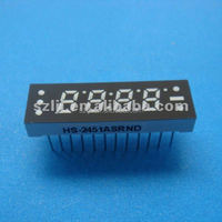 7 segment led display 4 digits outdoor for led gas station price sign display