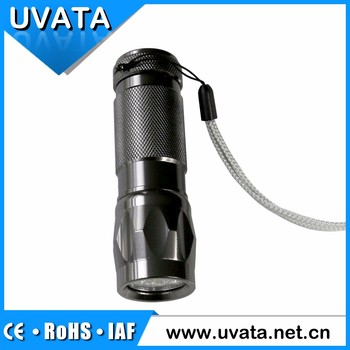 USB 12v Cigarette Lighter Powered Light 1w LED Flashlight With Power Bank