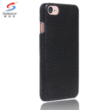 Popular style croco pattern pu leather phone case for iphone 5 6 6s 6plus 7 7plus