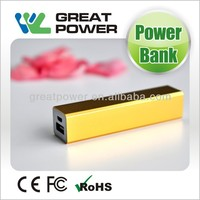 2014 newest factory directly selling fashion 2600mah mobile phone power bank
