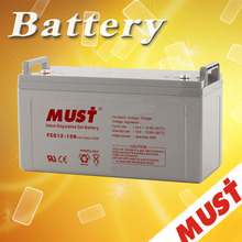 Maintenance Free Lead Acid Gel Solar Battery 12V 120AH 250AH