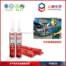 Weld Bonding for Auto Windscreen Working Model PU8635 onto Heavy Equipment