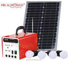 12AH 20w portable solar power system for emergency or home use
