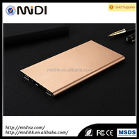10000mAh super slim portable mobile power bank, book design and best cooperate gift