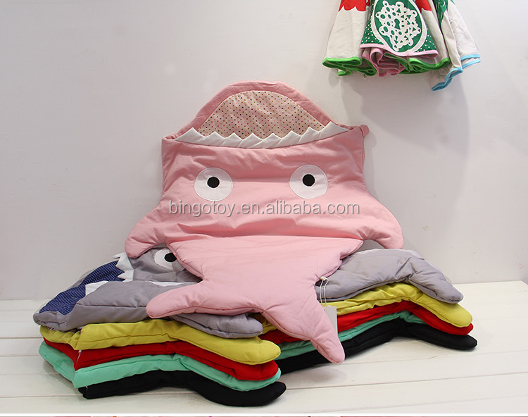 2016 new design shark shaped plush shark pillows shark blanket cartoon toy for children gift