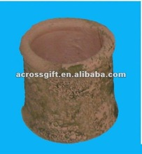aged look 3 inch terracotta garden pot