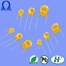 QCR electronic components polypropylene monolithic capacitors 104k polyester film capacitor