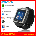 3 - 7MP Camera and Android Operation System watch phone android wifi 3g