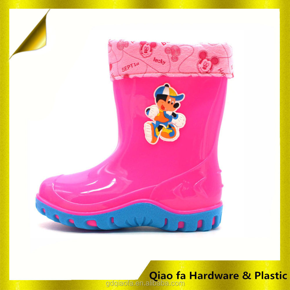 Children Rain Boot Use Be Summer And Winter Comfortable Weliies