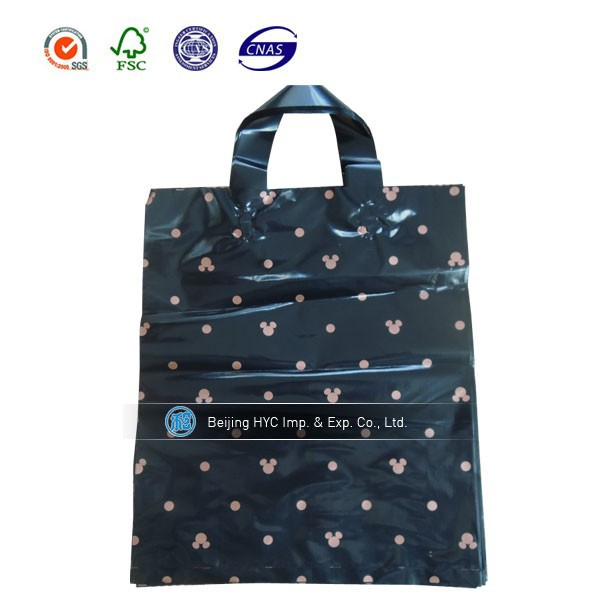 black plastic plant bag